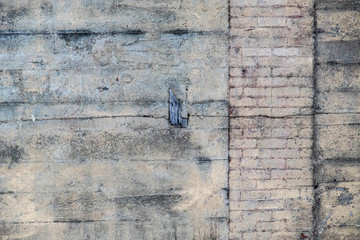 Aging Wall Texture with Brick and Concrete