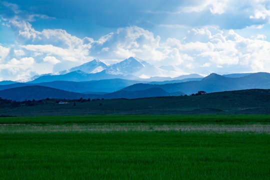 Long's Peak from Loveland, Colorado.