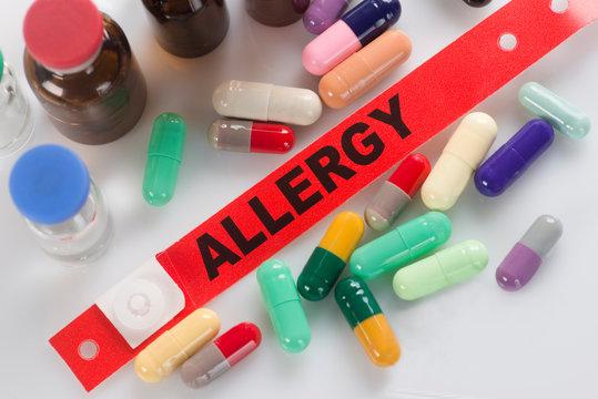 Medication Allergy Alert Wristband