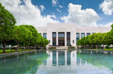 Pasadena City College in Pasadena California