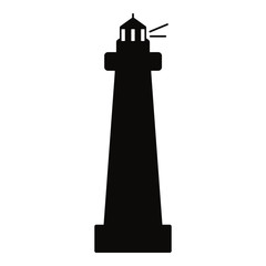 lighthouse icon vector design illustration