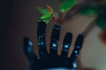 Cropped Image Of Robot Hand