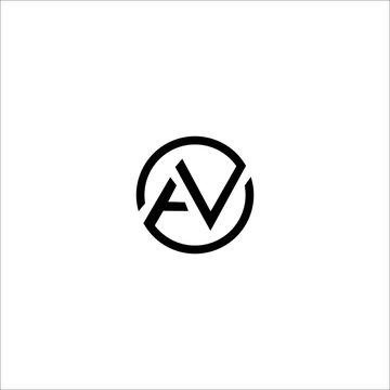AV AN logo and icon concept