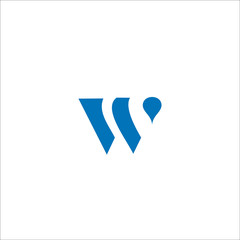 W logo and icon concept