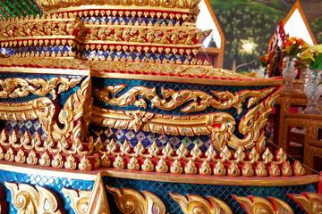 Fotobehang Bedehuis temple in thailand