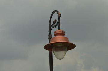 Vintage Street lamp kolkata Victoria  Papier Peint