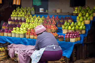 fruit and vegetable at Madagascar
