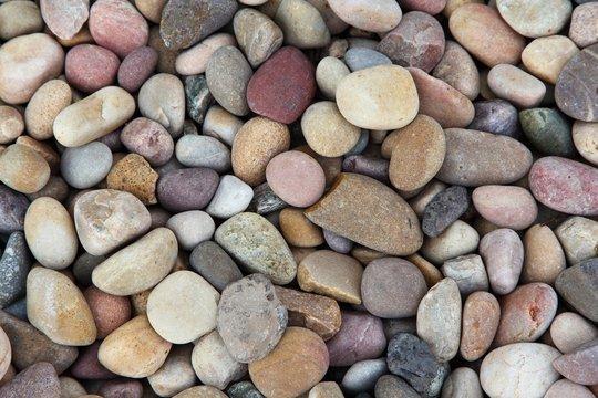 Full Frame Shot Of Stones On Field