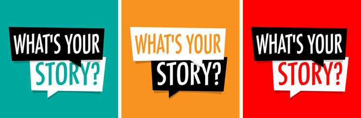 What is your story Fototapete