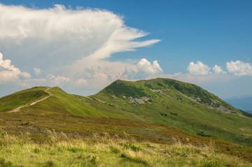 Tarnica peak in Bieszczady Mountains Poland