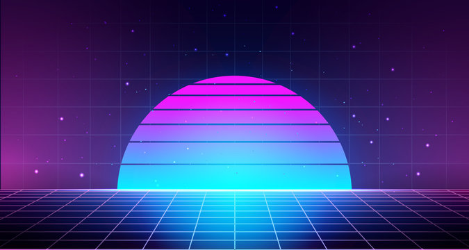 Synthwave Photos Royalty Free Images Graphics Vectors Videos Adobe Stock