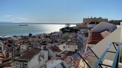View over Alfama, Lisbon