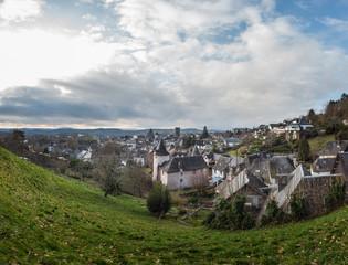 Allassac (Corrèze, France) - Vue panoramique du village