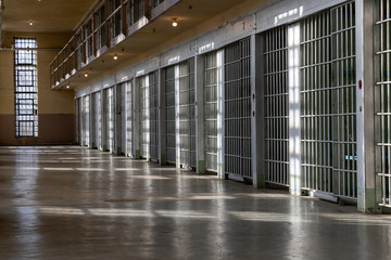 Prison is where criminals spend their time.