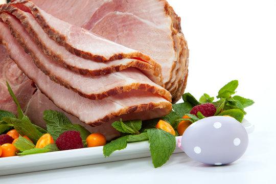 Easter Roasted Sliced Ham
