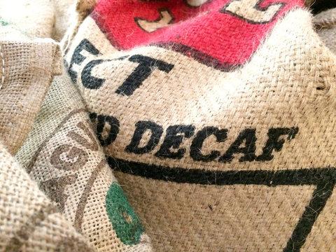 Burlap Coffee bean bags