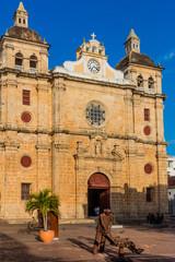 Fototapete - Centro Historico Cartagena de los indias Bolivar Colombia