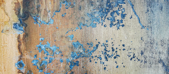 texture of rust on old metal surface background