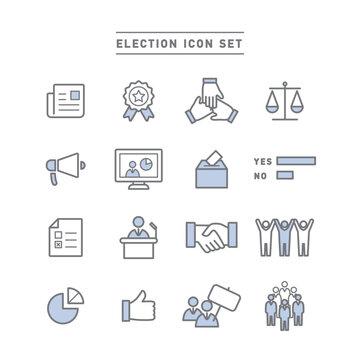 ELECTION ICON SET