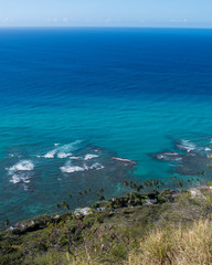 View from Diamond Head Honolulu Hawaii