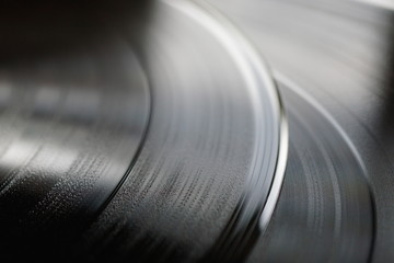 Full Frame Shot Of Record Disk