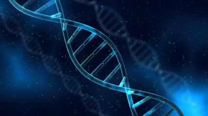 DNA Strand Helix Genome Medical Science image background