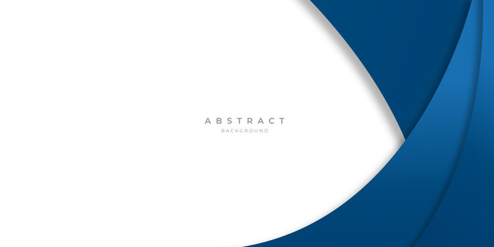 Modern futuristic blue white abstract backgound for presentation design, banner, and business card