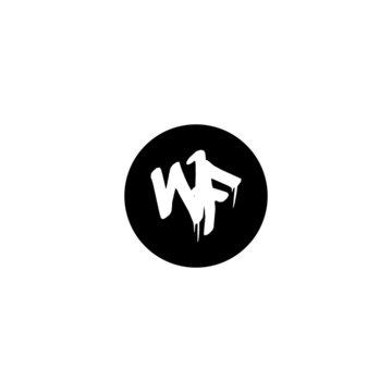 Initial WF letter drip template design