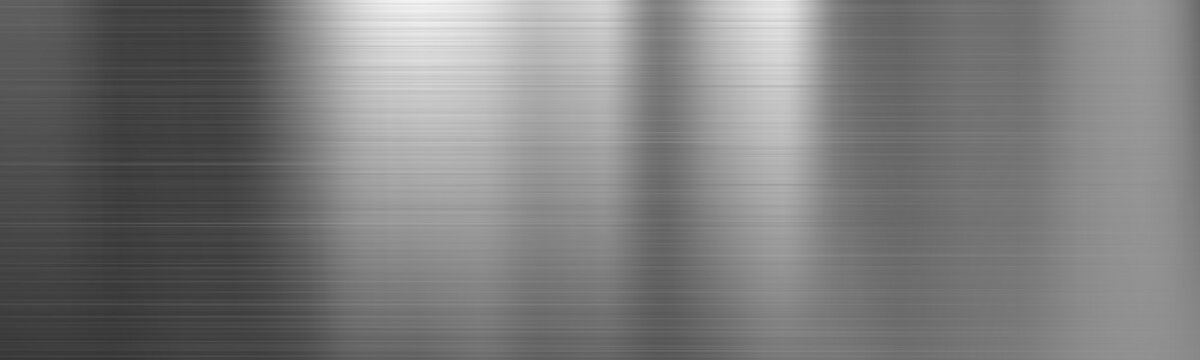 Brushed Metal Steel Gradient Texture