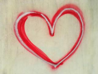 Gemaltes Herz