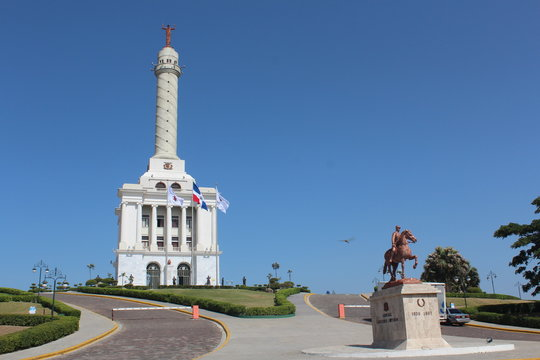 monumento de Santiago de los Caballeros, Republica Dominicana