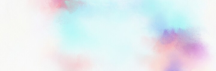 colorful vibrant old horizontal header with lavender, white smoke and pastel violet color