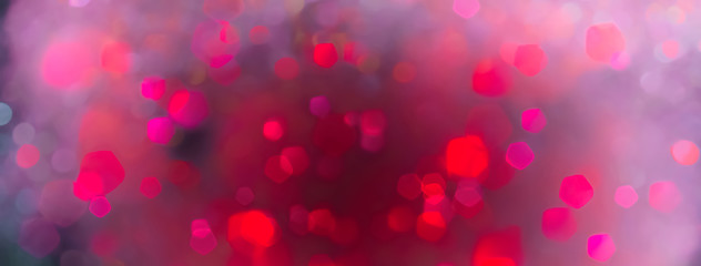 Fototapete - abstract colorful bokeh background - concept party confetti, birthday and carnival celebration