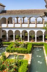 Patio de la Acequia La Alhambra, Granada, Spain