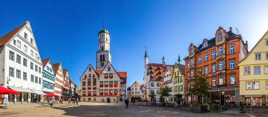 Marktplatz, Biberach an der Riß, Deutschland  Fototapete