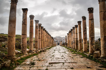 Canvas Prints Place of worship Jerash, Jordan