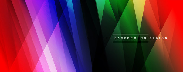Dynamic trendy simple fluid color gradient abstract background with line effects. Vector Illustration For Wallpaper, Banner, Background, Card, Book Illustration, landing page Fototapete