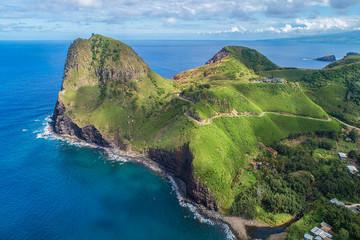 Kahakuloa (Aerial View) - Island of Maui, Hawaii Wall mural