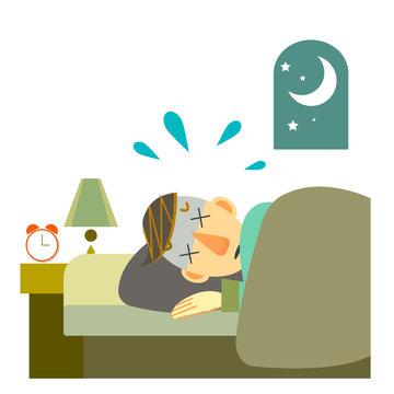 睡眠トラブル 睡眠時無呼吸症候群