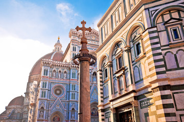 Keuken foto achterwand Florence Majestic cathedral Santa Maria del Fiore in Florence