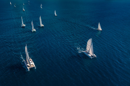 Regatta in the Indian Ocean