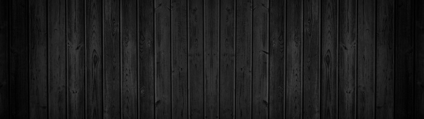 old black grey rustic dark wooden texture - wood background panorama banner long
