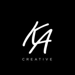 Obraz ka logo design vector icon - fototapety do salonu