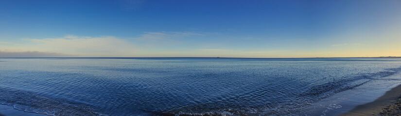 Morze Bałtyckie, panorama