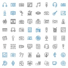 studio icons set