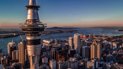 Fototapeta HIGH ANGLE VIEW OF BUILDINGS IN CITY obraz