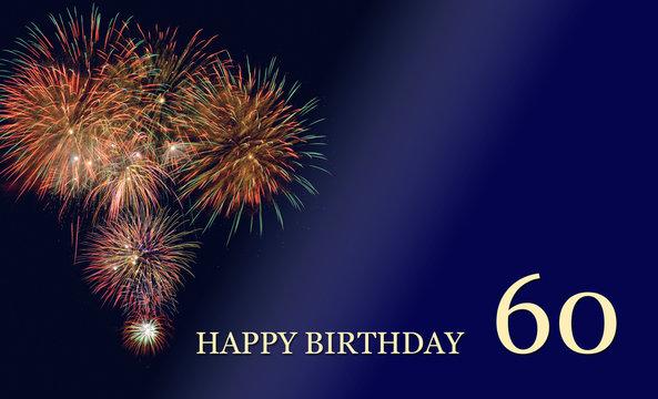 congratulation and happy birthday 60th