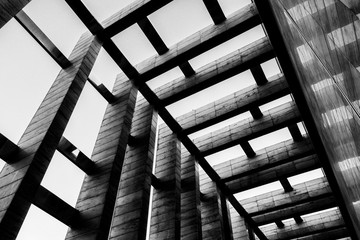 abstract architectural details in town