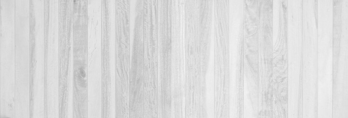 Fototapeta Full Frame Shot Of White Wooden Wall