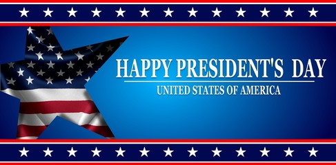 Presidents day background Fotomurales